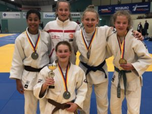 Judo Yushi - kampioenschap van Noord-Holland teams meisjesteam -15 - 2019
