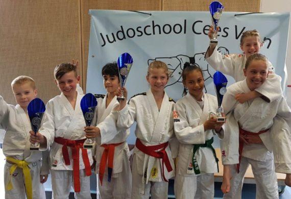 Judo Yushi prijswinnaars Westfries open toernooi 2019