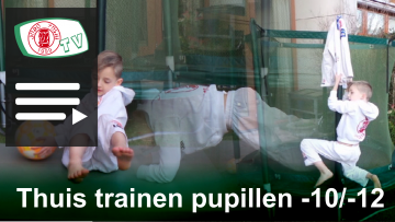 banner playlist Judo Yushi TV thuis trainen pupillen tot 12 jaar
