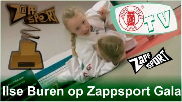 Ilse Buren at Zappsport Sportsman and Sportswoman of the year election
