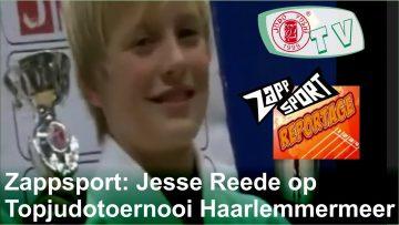 Jesse Reede at Topjudotournament Haarlemmermeer