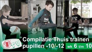 Judo Thuis Trainen u10 en u12 compilatie week 6 t/m 10