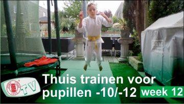 Judo Thuis Trainen u10 u12 oefeningen week 12