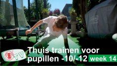 Judo Thuis Trainen u10 u12 oefeningen week 14