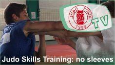 Judo Yushi TV judo no sleeves