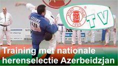 Nationale selectie Azerbeidzjan traint bij Judo Yushi