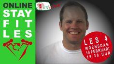 Stay Fit fitnesstraining LES 4 o.l.v. Clark van Veen