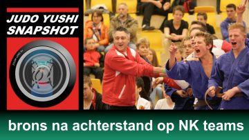 Judo Yushi Snapshot: brons op NK teams tot 18 jaar