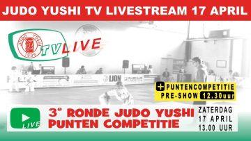 Judo Yushi Puntencompetitie 2020/2021 competitiedag 3