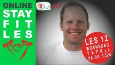 Stay Fit fitnesstraining 12 o.l.v. Clark van Veen