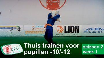 Thuis trainen u10  u12 seizoen 2 week 1