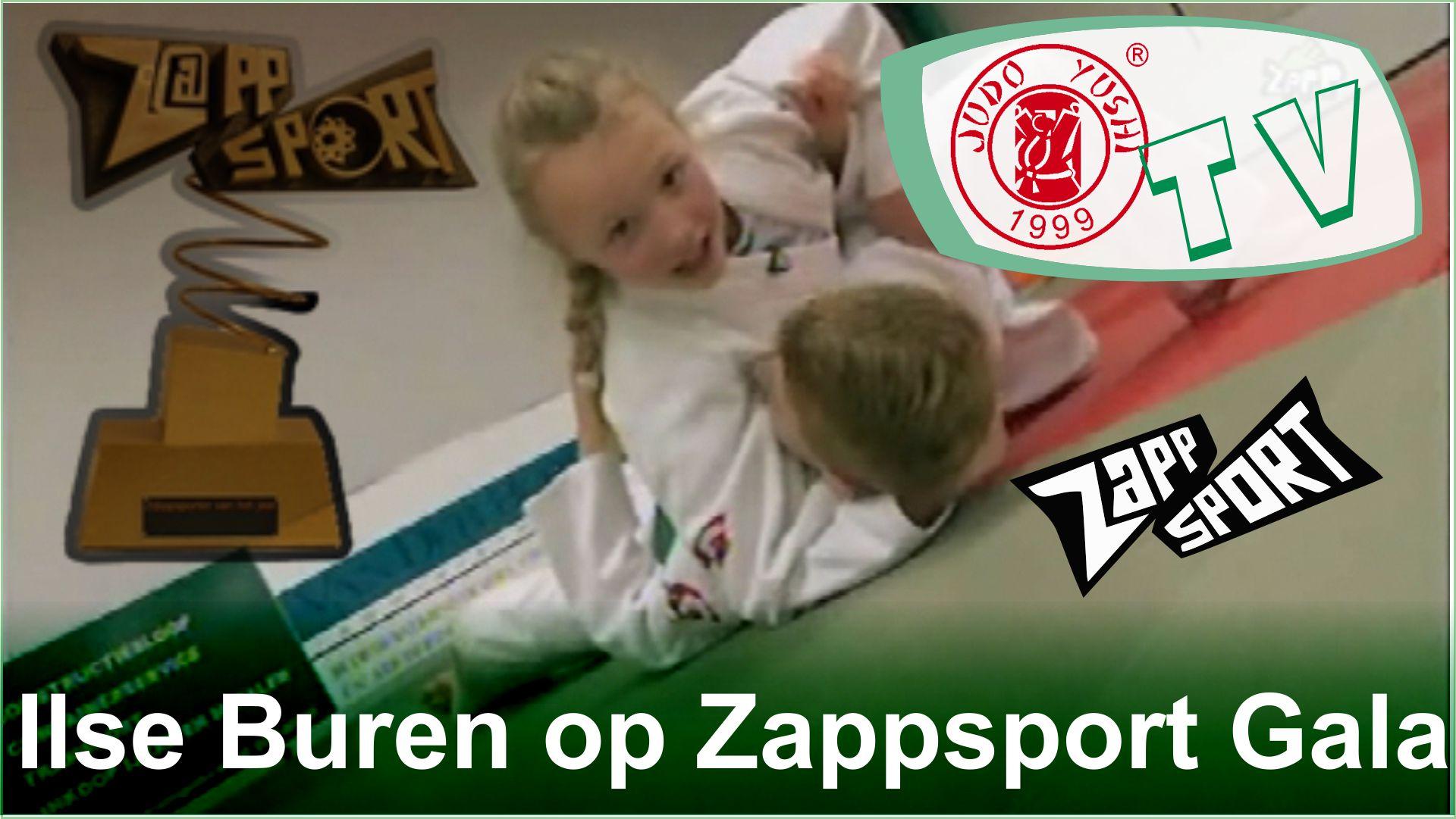 Ilse Buren bij het Zappsport Gala
