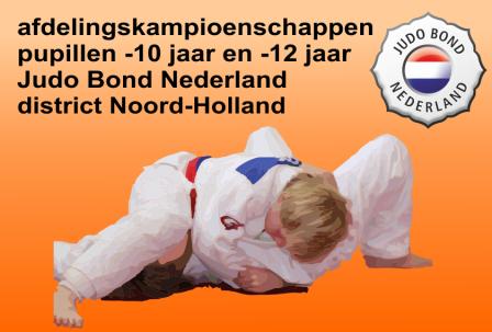Judo Yushi afdelingskampioenschappen district Noord-Holland afdeling zuid west Judo Bond Nederland