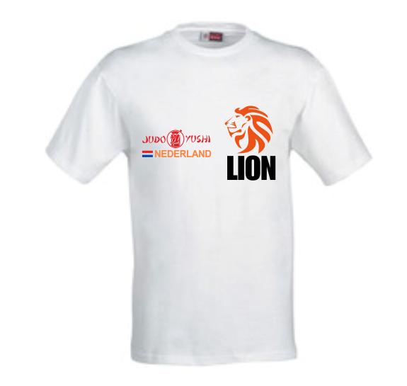Judo Yushi T-shirt behorend bij het kledingpakket
