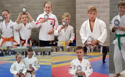 Judo Yushi prijswinnaars Koegrastoernooi 2018