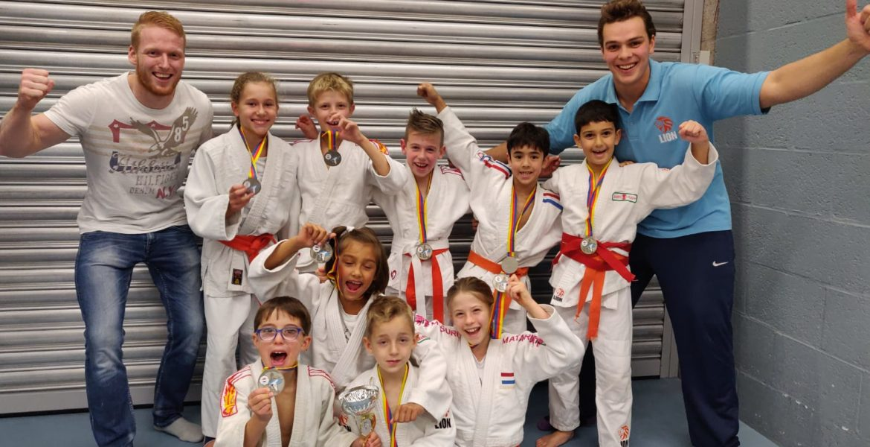 Judo Yushi team pup A nhk 2018 tweede