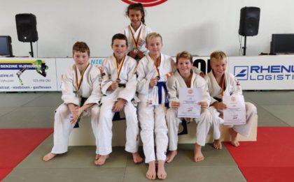 regio pup B 2018 Judo Yushi prijswinnaars