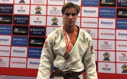 Judo Yushi - Open Twents judokampioenschap; Tim Fennema derde