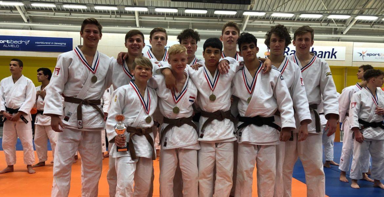 NK teams u18 Judo Yushi derde van Nederland