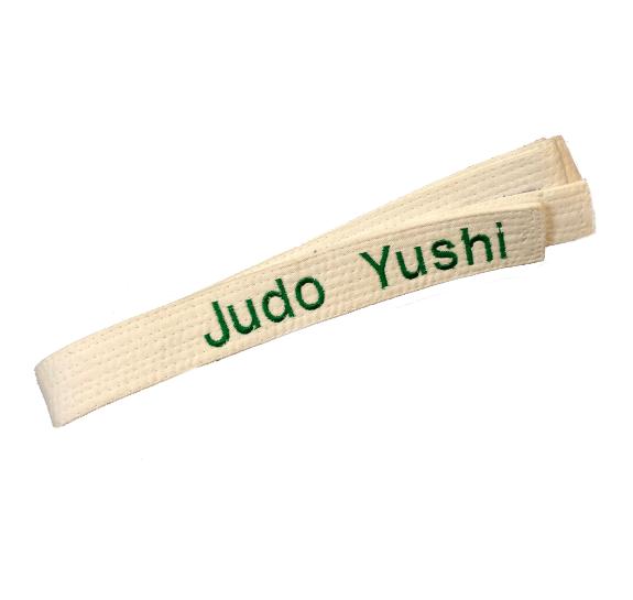 Judo Yushi judoband met borduring