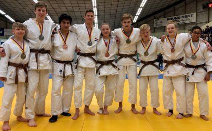 Judo Yushi - prijswinaars kampioenschap van Noord-Holland u18 2019