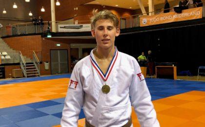 Judo Yushi - Loek van der Veld NKu21 2e u90kg