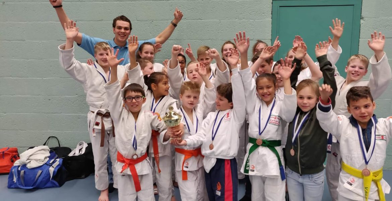 Judo Yushi jeugdteam wfjjc hoofdklasse 2019 derde
