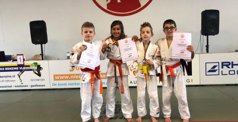 Judo Yushi - regiokampioenschappen Pup A 2019