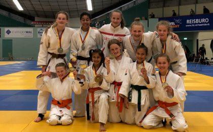 Judo Yushi - kampioenschap van Noord-Holland teams -12 -15 2019