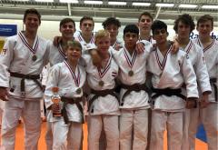 Judo Yushi NK 2018 Team heren u18 3e