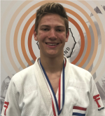 NK 2019 Jelle van der Werff Judo Yushi 1e u18