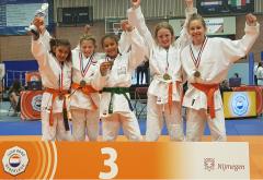 NK 2019 Judo Yushi jeugdteams meisjes u12 3e
