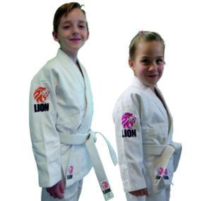 Lion Kids judopakken in de Judo Yushi Shop