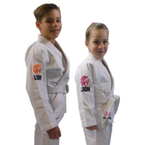 Judo Yushi judopak Lion Kids en judopak Lion Kids girls