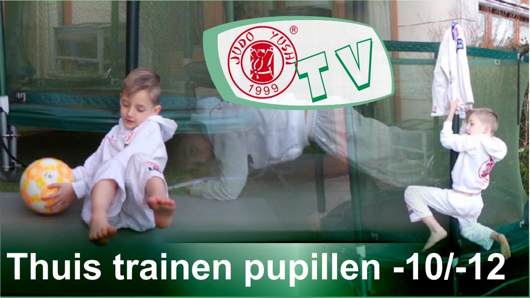 Thuis trainen pupillen tot 10 en tot 12 jaar week 1