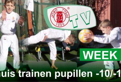 THUIS TRAINEN PUPILLEN TOT 10 EN TOT 12 JAAR WEEK 2