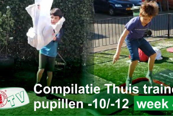 COMPILATIE WEEK 4 THUIS TRAINEN JUDOKA'S -10 EN -12 JAAR
