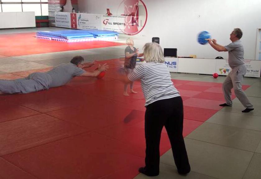 In balans in beweging; zeker bewegen voor de actieve 55-plusser, inclusief veilig leren valbreken