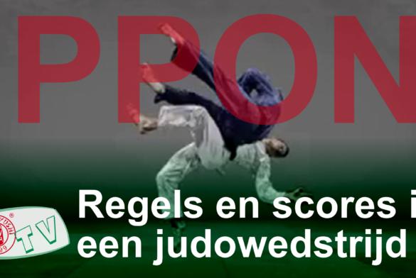 De regels en punten in een judowedstrijd