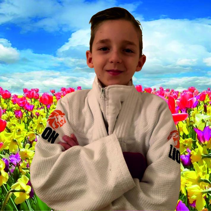 buitentraining Judo Yushi voorjaar