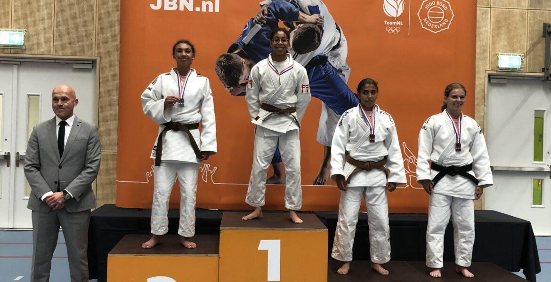 Judo Yushi judoka Maira Medema kampioen van Nederland